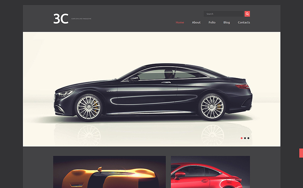 Thème Joomla adaptatif  pour clubs automobiles New Screenshots BIG
