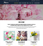Flowers osCommerce  Template 52418