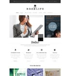Books Website  Template 52420