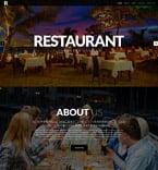 Cafe & Restaurant Website  Template 52421