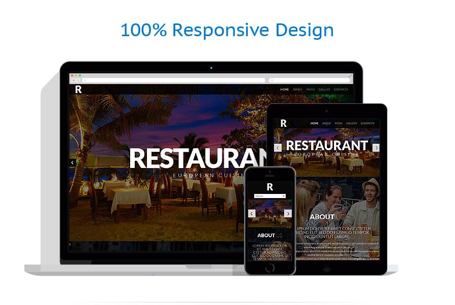 Modèles HTML5 Café et Restaurant #52421