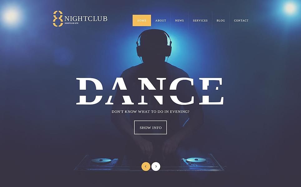 Responzivní WordPress motiv na téma Noční kluby New Screenshots BIG