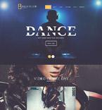 Night Club WordPress Template 52425