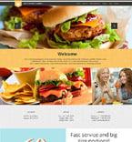 Cafe & Restaurant WordPress Template 52426