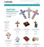 Religious ZenCart  Template 52431