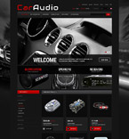 Cars ZenCart  Template 52436