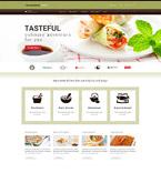 Cafe & Restaurant WordPress Template 52438
