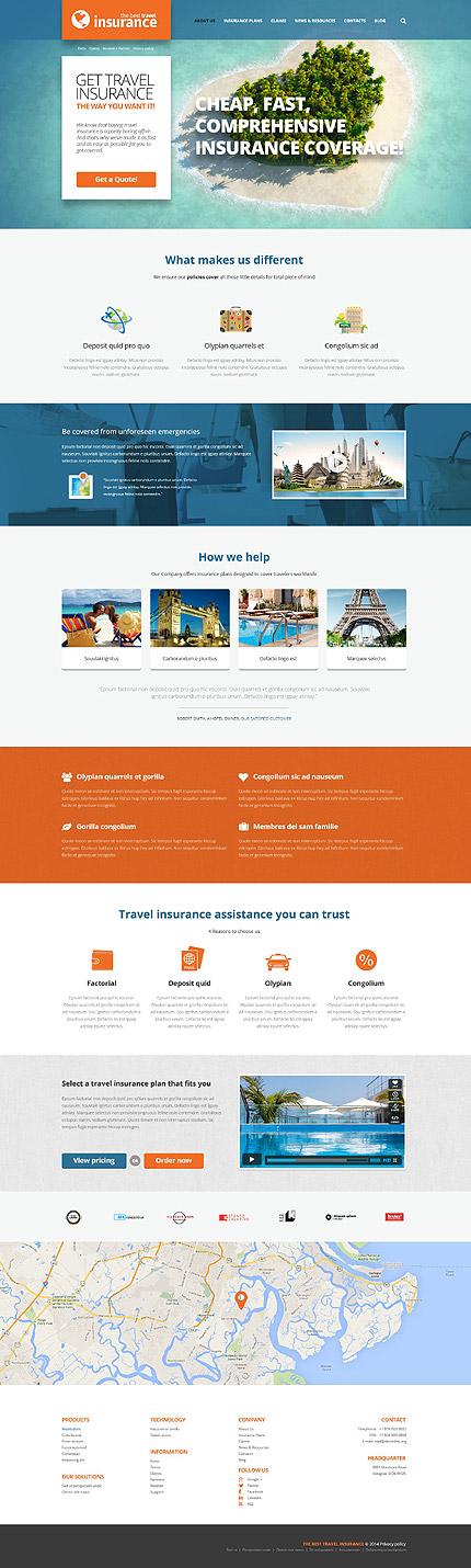 WordPress Theme/Template 52441 Main Page Screenshot