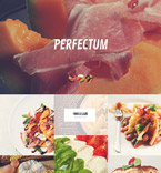 Cafe & Restaurant WordPress Template 52443