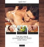 Beauty Website  Template 52446