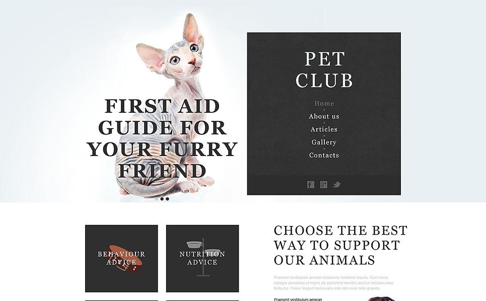 Hahvanlar ve Evcil Hayvanlar Muse Şablon New Screenshots BIG