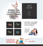 Animals & Pets Muse  Template 52447