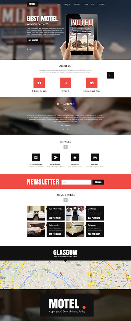 Website Template #52449