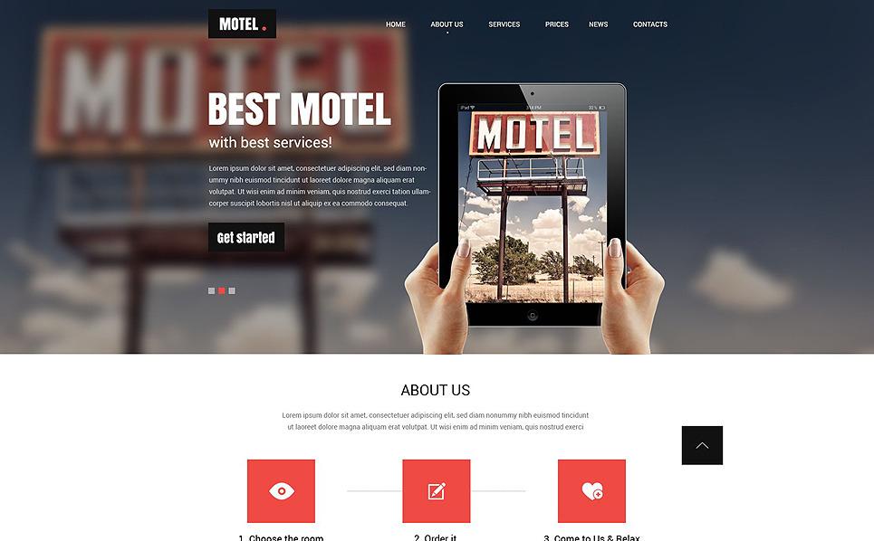 Responsive Motel  Web Sitesi Şablonu New Screenshots BIG