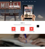 Hotels Website  Template 52449