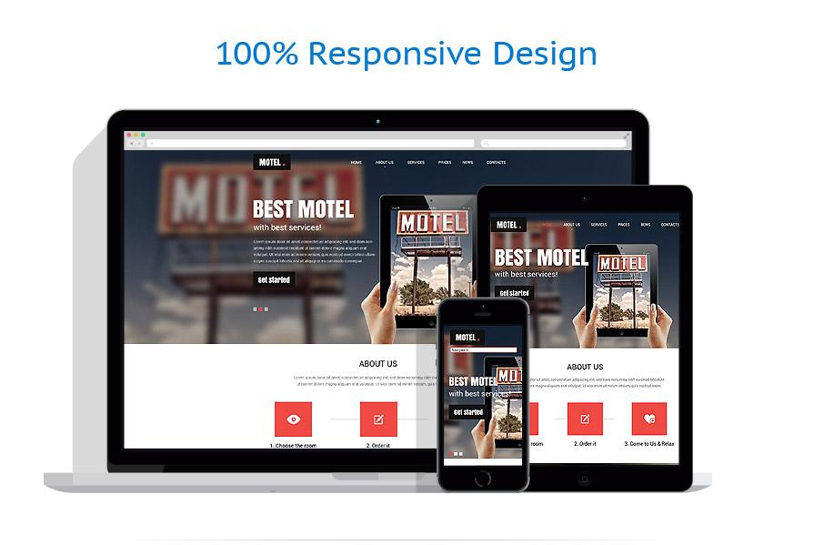 Modèles HTML5 Hôtels #52449