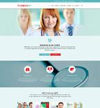 Medical Website  Template 52452