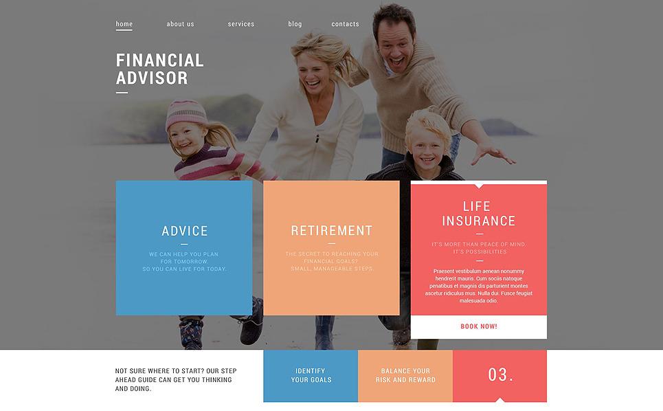 Thème Drupal adaptatif  pour un conseiller financier New Screenshots BIG