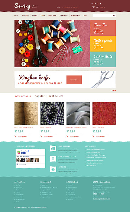 ADOBE Photoshop Template 52455 Home Page Screenshot