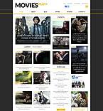 Entertainment WordPress Template 52460