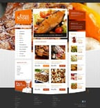 Food & Drink ZenCart  Template 52462