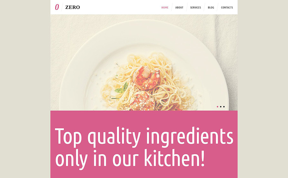 Tema De WordPress Responsive para Sitio de Cafetería y Restaurante New Screenshots BIG