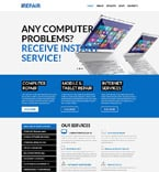 Computers WordPress Template 52468