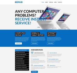 Software website templates premium web templates for software software pronofoot35fo Choice Image
