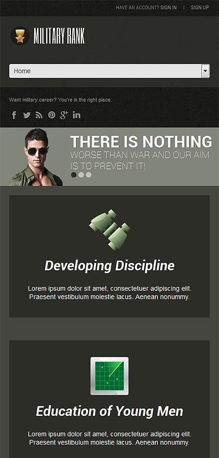 WordPress Theme/Template 52472 Main Page Screenshot