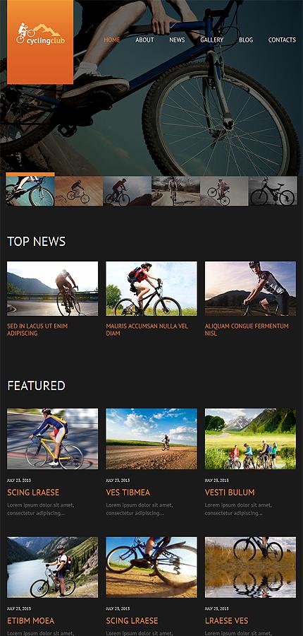 WordPress Theme/Template 52475 Main Page Screenshot