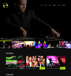 Entertainment WordPress Template 52476