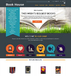 Books osCommerce  Template 52482
