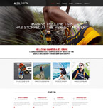 Art & Photography Muse  Template 52486