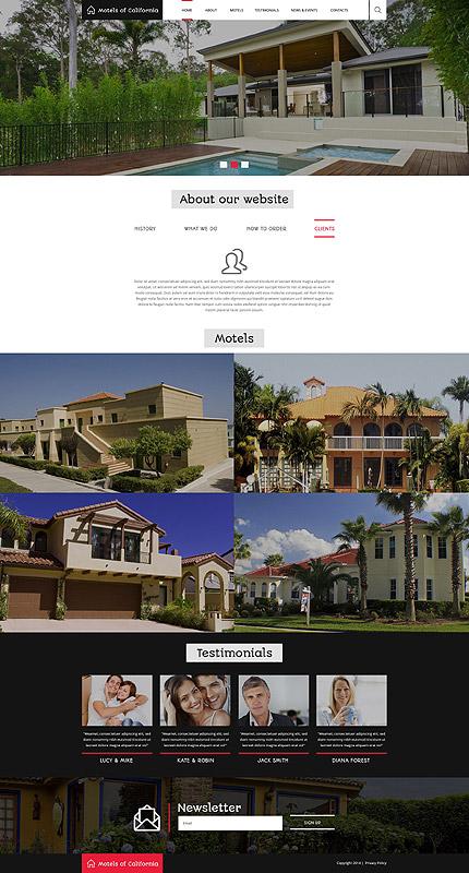 Drupal Template 52489 Main Page Screenshot