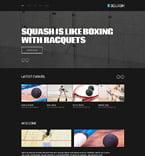 Sport Website  Template 52490