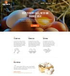 Agriculture Website  Template 52491