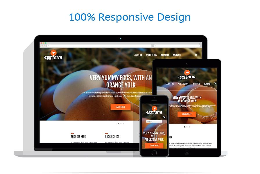 Modèles HTML5 Agriculture #52491
