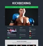 Sport Website  Template 52493