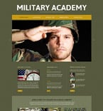 Military Website  Template 52494