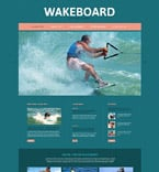 Sport Website  Template 52495