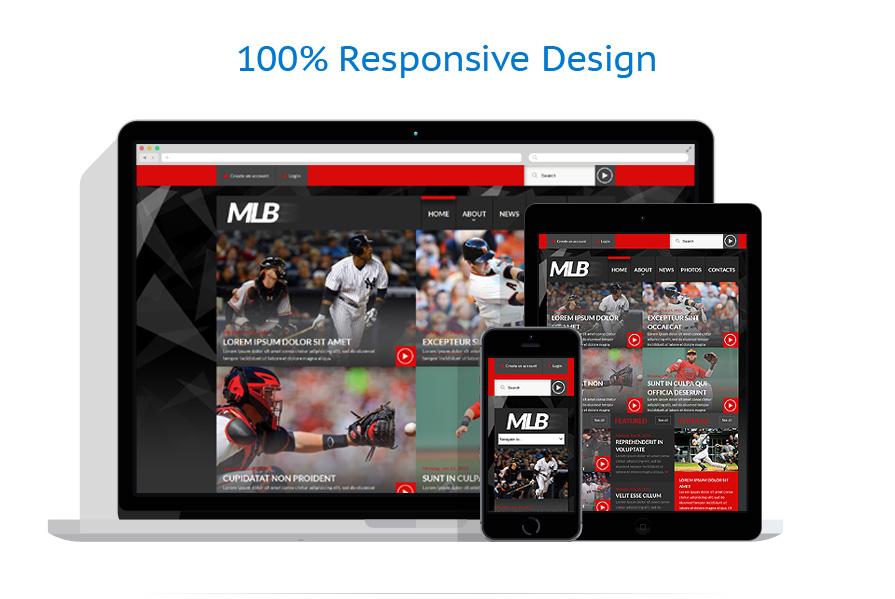Modèles HTML5 Sport #52497