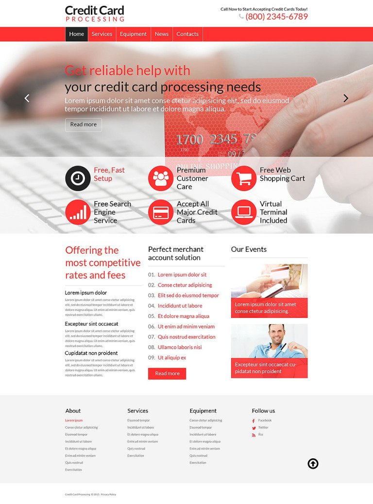 Accounting WordPress Theme New Screenshots BIG