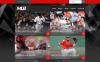 Адаптивний Шаблон сайту на тему бейсбол New Screenshots BIG