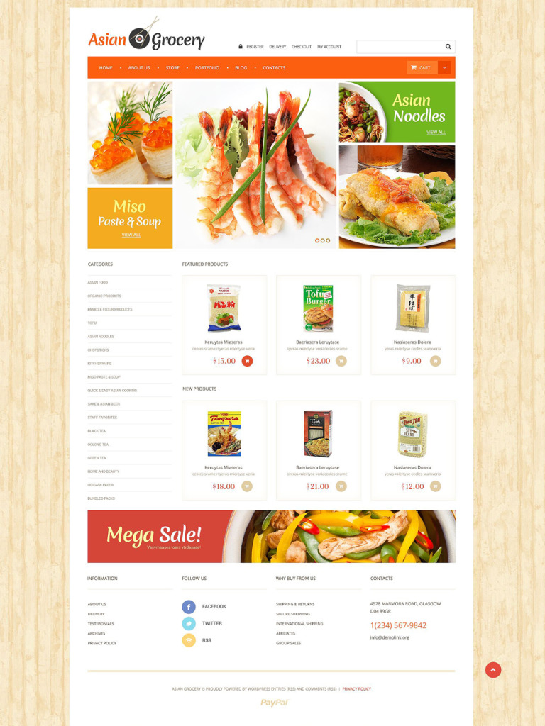 Asian Grocery Store WooCommerce Theme New Screenshots BIG