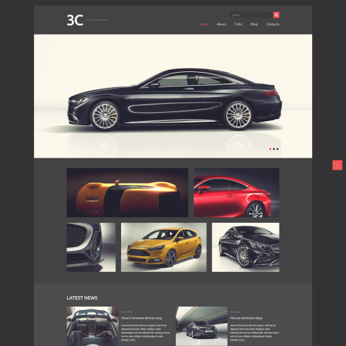 3C - Joomla! Template based on Bootstrap