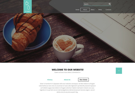 Cafe Responsive