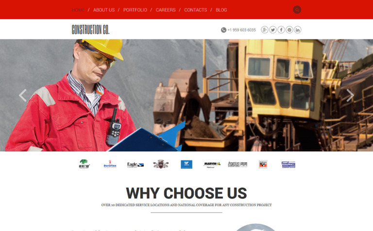 Construction Agency Joomla Template