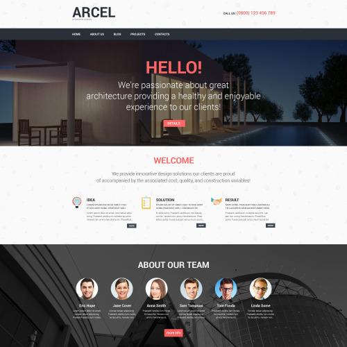 Arcel - WordPress Architecture Template