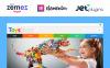 "Modello WooCommerce Responsive #52481 ""Giochi per Bambini"" New Screenshots BIG"