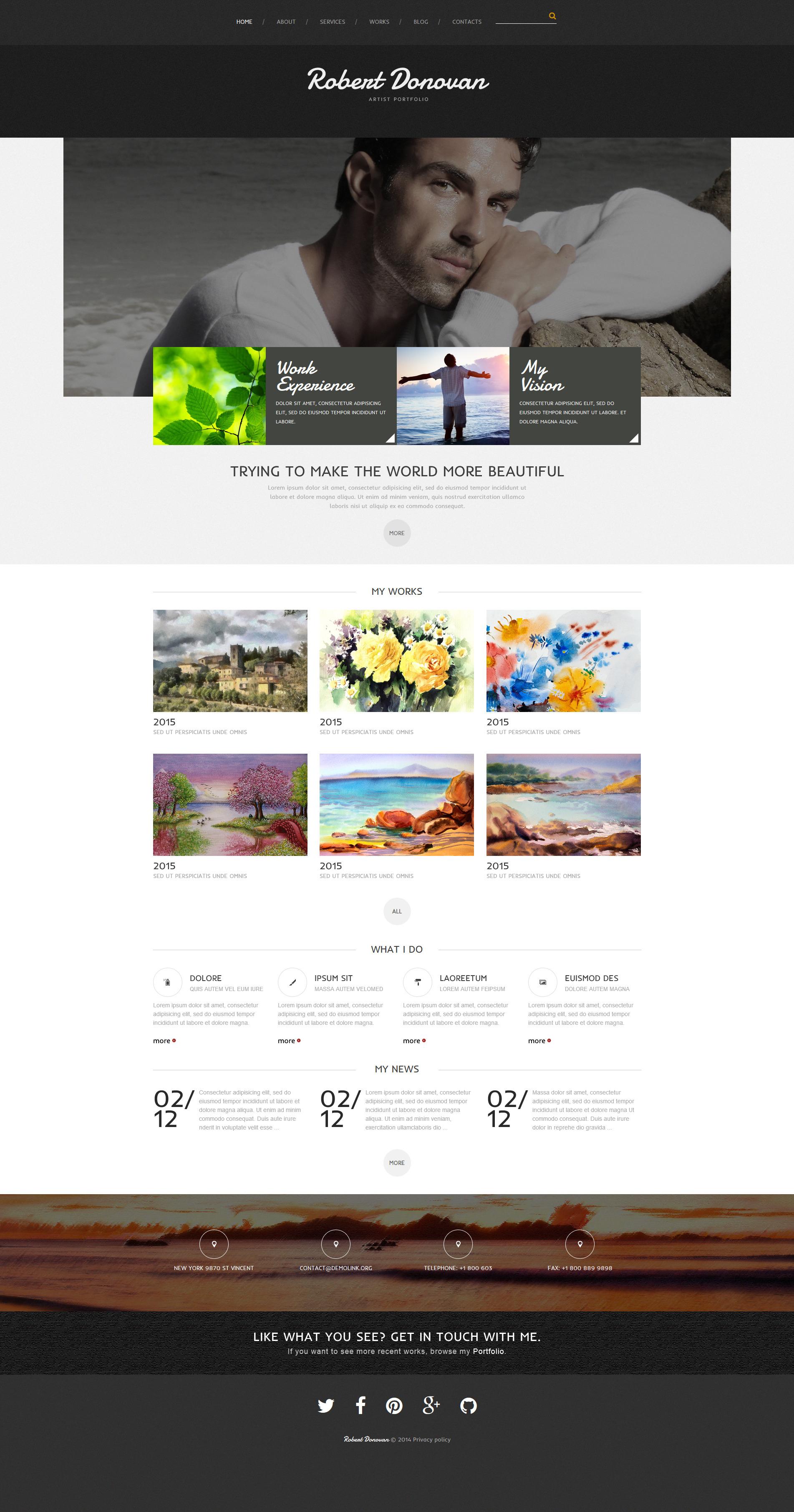 Schön Vorlage Persönliche Website Fotos - Entry Level Resume ...